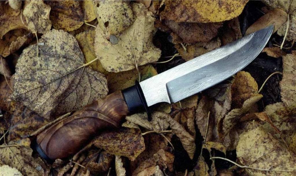 Сделать охотничий нож в домашних условиях 719