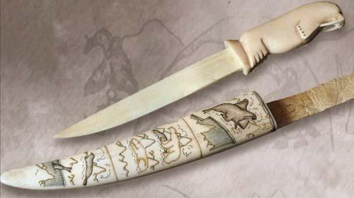 Рукояти для ножей из рога