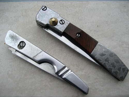 Складной зоновский нож